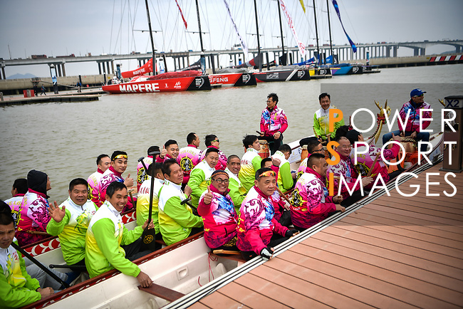 Day 3 of the Volvo Ocean Race 2017-18 - Guangzhou Stopover on 05 February 2018, in Guangzhou, China. Power Sport Images