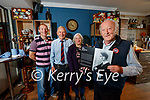 Andrew Curtayne pictures with a plaque commemorating the birthplace of his mother the author Alice Curtayne in photo are Brian O'Sullivan, Der O'Sullivan and Rowena Curtayne.