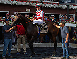 08062021:#2 Public Sector ridden by Flavien Prat  wins the National Museum Of Racing Hall Of Fame (grII) at Saratoga Race Course<br /> Robert Simmons/Eclipse Sportswire