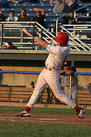 June 27, 2003:  first baseman Bryan Hansen of the Batavia Muckdogs during a game at Dwyer Stadium in Batavia, New York.  Photo by:  Mike Janes/Four Seam Images