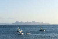 Blick auf Sao Vicente von  Porto Novo, Santo Antao, Kapverden, Afrika