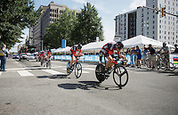 Team BMC (USA) speeding towards the finish<br /> <br /> Elite Men's Team Time Trial<br /> UCI Road World Championships Richmond 2015 / USA