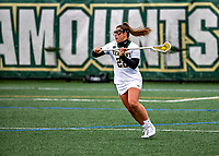 17 April 2021: University of Vermont Catamount Attacker McKenzie Ballard, a Sophomore from Mechanicville, NY, in action against the UMBC Retrievers at Virtue Field in Burlington, Vermont. The Lady Cats fell to the Retrievers 11-8 in the America East Women's Lacrosse matchup. Mandatory Credit: Ed Wolfstein Photo *** RAW (NEF) Image File Available ***