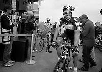 Giro d'Italia stage 13.Savano-Cervere: 121km..Juan Antonio Flecha before the race
