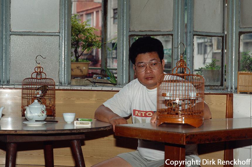 China, Macao, im Long Wa-Teehaus