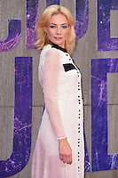 """Clara Paget<br /> arrives for the """"Suicide Squad"""" premiere at the Odeon Leicester Square, London.<br /> <br /> <br /> ©Ash Knotek  D3142  03/08/2016"""