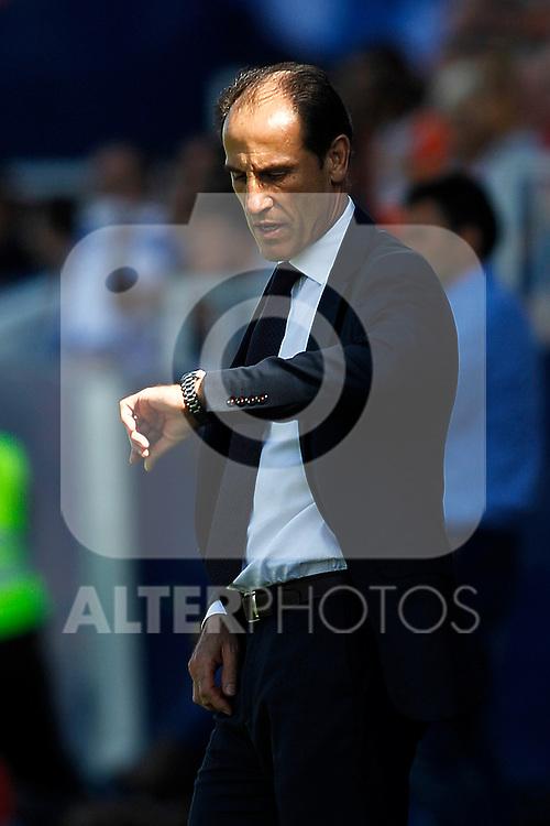 Valencia CF's coach Salvador Gonzalez Voro during La Liga match. September 25,2016. (ALTERPHOTOS/Acero)