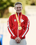 Mitchell Chase, Toronto 2015 - Para Athletics // Para-athlétisme.<br /> Mitchell Chase receives his Gold Medal for the Men's 1500m T38 Final // Mitchell Chase reçoit sa médaille d'or pour la finale du 1500 m T38 masculin. 12/08/2015.