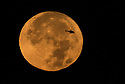 November 13 and 14 / Super Moon over Strawbridge Lake and Philadelpihia PA skyline