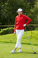 STANFORD, CA - APRIL 24: Gile Bite Starkute at Stanford Golf Course on April 24, 2021 in Stanford, California.