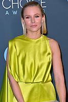 SANTA MONICA, USA. January 12, 2020: Kristen Bell at the 25th Annual Critics' Choice Awards at the Barker Hangar, Santa Monica.<br /> Picture: Paul Smith/Featureflash