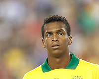 Brazil forward Jo (21). In an international friendly, Brazil (yellow/blue) defeated Portugal (red), 3-1, at Gillette Stadium on September 10, 2013.