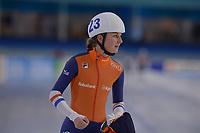 SCHAATSEN: HEERENVEEN: 15-12-2018, ISU World Cup, Mass Start Ladies, Melissa Wijfje (NED), ©foto Martin de Jong