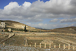 Judea, Herodion, built by Herod the Great in the Judean desert, the lower city, located to the north-west of the fortress