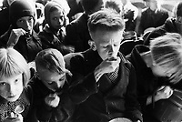 Photo from the NIOD's Huizinga collection. Hunger winter. <br /> <br /> The Dutch famine of 1944–45, known in the Netherlands as the Hongerwinter (literal translation: hunger winter), was a famine that took place in the German-occupied Netherlands, especially in the densely populated western provinces north of the great rivers, during the winter of 1944–45, near the end of World War II.
