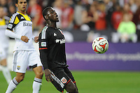 Washington D.C. - March 8, 2014: Eddie Johnson (7) of D.C. United. The Columbus Crew defeated D.C. United 3-0 during the opening game of the 2014 season at RFK Stadium.
