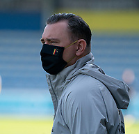 physio Sander Nuyens of Belgium pictured before a friendly soccer game between KVC Westerlo and Belgium U21 on Tuesday 30 th of March 2021  in Westerlo Youth Complex , Westerlo Belgium . PHOTO SPORTPIX.BE | SPP | SEVIL OKTEM