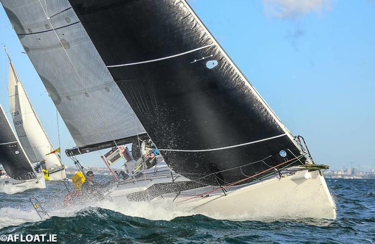 While Paul O'Higgins' JPK 10.80 Rockabill VI (RIYC) – the defending champion in next week's NYC Dun Laoghaire to Dingle Race – is clearly fond of a good breeze of wind, her experienced crew have shown they can stay ahead in lighter airs