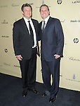 Nathan Fillion and brother at THE WEINSTEIN COMPANY 2013 GOLDEN GLOBES AFTER-PARTY held at The Old trader vic's at The Beverly Hilton Hotel in Beverly Hills, California on January 13,2013                                                                   Copyright 2013 Hollywood Press Agency