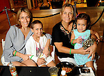 From left: Erica Allemant, Maria Paz Allemant, Lecila Saona and Romina Allemant at the University of Texas M.D. Anderson Cancer Center and The Galleria's Back to School Fashion Show benefitting pediatric cancer patients at The Galleria Saturday August 25,2012.(Dave Rossman Photo)