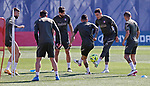 Atletico de Madrid's Jose Maria Gimenez during training session. May 6,2021.(ALTERPHOTOS/Atletico de Madrid/Pool)