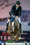 Piergiorgio Bucci of Italy riding Casallo Z in action during the Hong Kong Jockey Club Trophy competition as part of the Longines Hong Kong Masters on 13 February 2015, at the Asia World Expo, outskirts Hong Kong, China. Photo by Victor Fraile / Power Sport Images