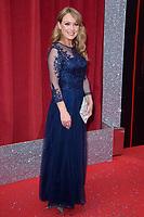 Michelle Hardwick<br /> arriving for the British Soap Awards 2018 at the Hackney Empire, London<br /> <br /> ©Ash Knotek  D3405  02/06/2018