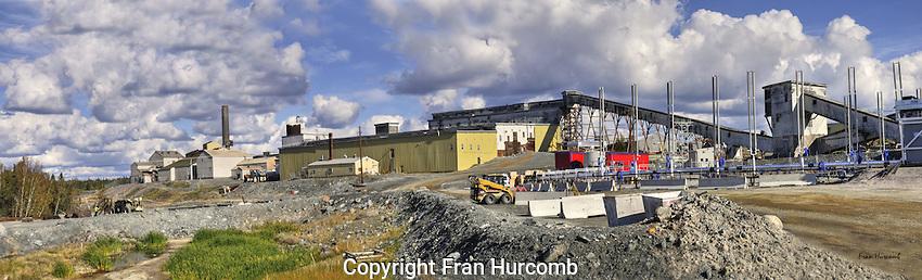 Mining, Giant mine mill