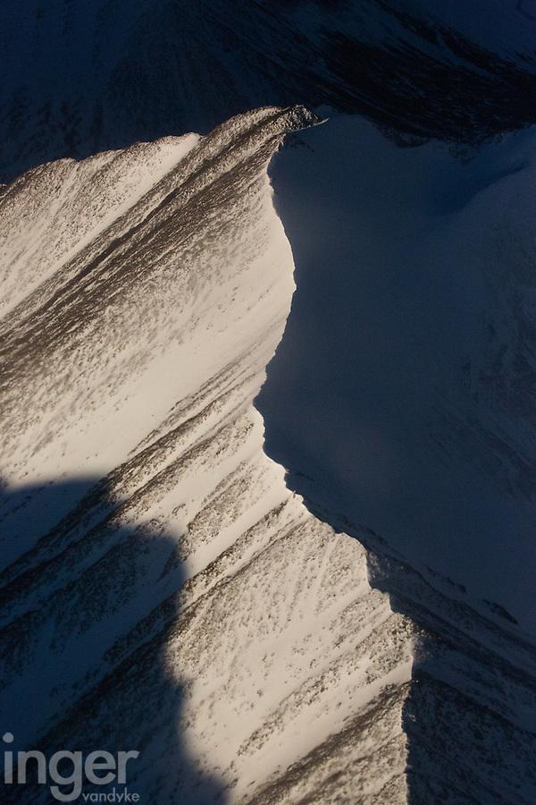 Aerial View of the Zanskar Range in Ladakh