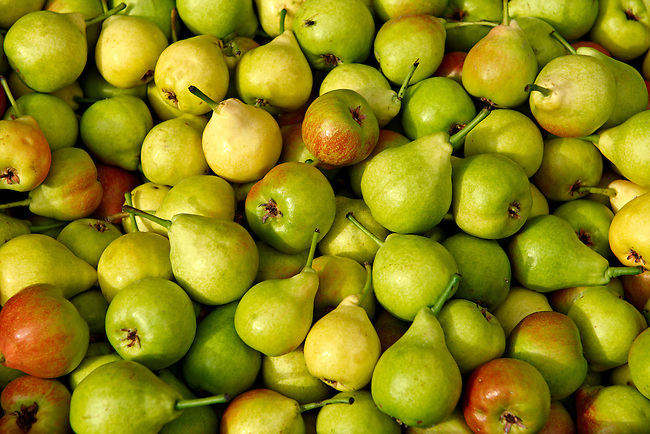 Fresh Pears & apples.