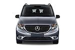 Car photography straight front view of a 2018 Mercedes Benz Metris Passenger-Van 5 Door Passenger Van Front View