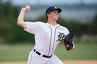 Detroit Tigers pitcher Michael Bienlien (58) during an Instructional League instrasquad game on September 20, 2019 at Tigertown in Lakeland, Florida.  (Mike Janes/Four Seam Images)