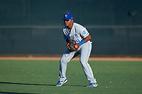 AZL Royals right fielder Edickson Soto (19) during an Arizona League game against the AZL White Sox at Camelback Ranch on June 19, 2019 in Glendale, Arizona. AZL White Sox defeated AZL Royals 4-2. (Zachary Lucy/Four Seam Images)