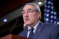 United States Representative G. K. Butterfield (Democrat of North Carolina) speaks about Internet bandwidth availability during a news conference at the United States Capitol in Washington D.C., U.S., on Wednesday, June 24, 2020.  Credit: Stefani Reynolds / CNP/AdMedia