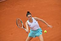 8th October 2020, Roland Garros, Paris, France; French Open tennis, Roland Garros 2020; Elsa Jacquemot - France