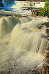 Watewrfall on Mississippi River at Almonte, ON