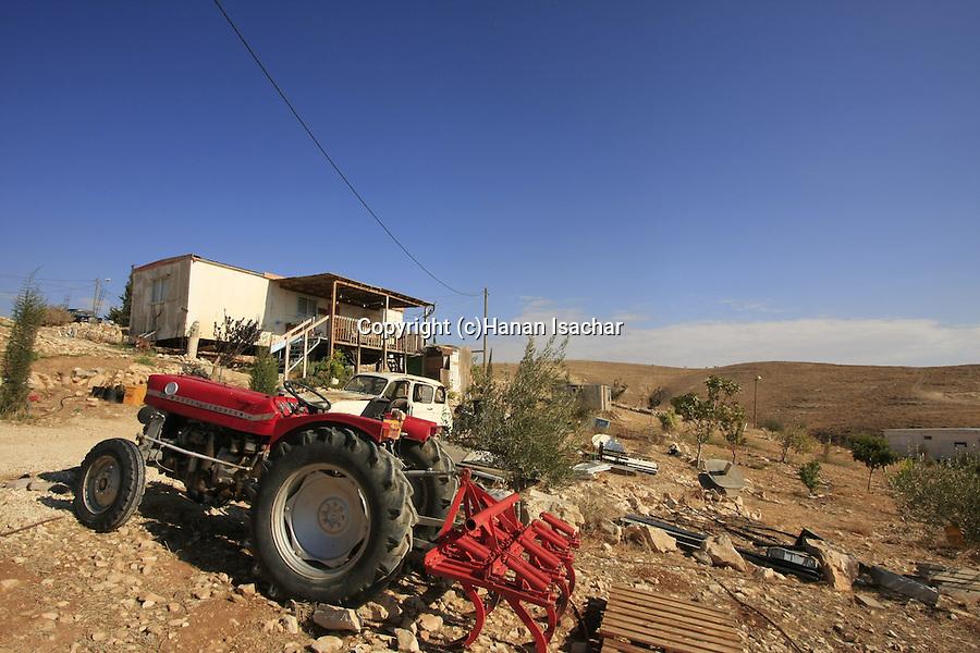 Judea, settlement Ma'ale Rehavam in the Judean mountains
