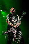 Kerry King of Slayer performing at Festival Hall, Melbourne, 9 October 2009