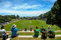 A general view of the women's Dream11 Super Smash T20 cricket match between the Central Hinds and Northern Spirit at Pukekura Park in New Plymouth, New Zealand on Wednesday, 30 December 2020. Photo: Dave Lintott / lintottphoto.co.nz