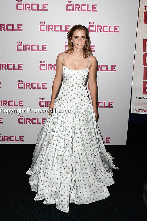 EMMA WATSON - Avant premiere du film ' THE CIRCLE ' le 21 juin 2017 - Paris - France