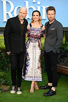 """director, Marc Forster, Hayley Atwell and Ewan McGregor<br /> arriving for the """"Christopher Robin"""" premiere at the BFI Southbank, London<br /> <br /> ©Ash Knotek  D3416  05/08/2018"""