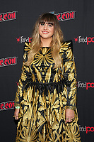 """NEW YORK CITY - OCTOBER 10: Natasia Demetriou attends a 2021 New York Comic Con event for FX's """"What We Do In The Shadows"""" at the Javits Center on October 10, 2021 in New York City.  (Photo by Ben Hider/FX//PictureGroup)"""