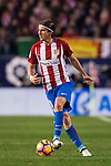 Filipe Luis of Atletico de Madrid in action during their La Liga match between Atletico de Madrid and Real Madrid at the Vicente Calderón Stadium on 19 November 2016 in Madrid, Spain. Photo by Diego Gonzalez Souto / Power Sport Images