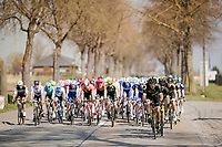 Team Direct energie leading the bunch<br /> <br /> 62nd E3 BinckBank Classic (Harelbeke) 2019 <br /> One day race (1.UWT) from Harelbeke to Harelbeke (204km)<br /> <br /> ©kramon