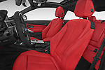 Front seat view of 2017 BMW 4-Series 440i 2 Door Coupe Front Seat  car photos