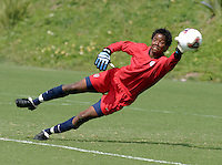 Briana Scurry, USWNT vs. Costa Rica, September 1, 2003.