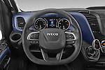 Car pictures of steering wheel view of a 2021 Iveco Daily - 4 Door Cargo Van Steering Wheel