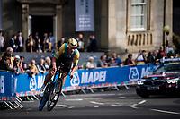 Dmitriy Noskov (KAZ)<br /> Men Junior Individual Time Trial<br /> <br /> 2019 Road World Championships Yorkshire (GBR)<br /> <br /> ©kramon