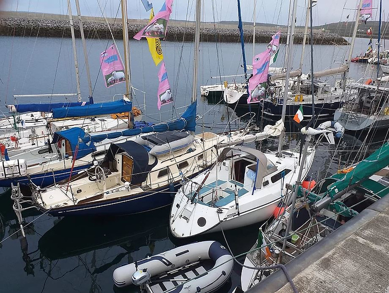 Lambs Week 2021 - 45 boats entered, 3 Destinations to be visited, a 'King of the Bay Pursuit Challenge' around the islands for both competitive and non-competitive boats
