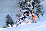 FIS Alpine Ski World Cup - Covid-19 Outbreak -  2nd Men's Downhill Ski event on 19/12/2020 in Val Gardena, Gröden, Italy. In action Nils Alphand (FRA)